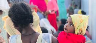 Äthiopier*innen erzählen von ihrer Flucht vor dem Bürgerkrieg