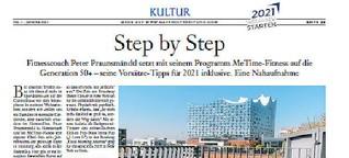Step by Step - Fitnesscoach Peter Praunsmändtl lebt und trainiert in der Hafencity
