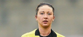 Schiedsrichterin Franziska Wildfeuer: Die Klassenbeste