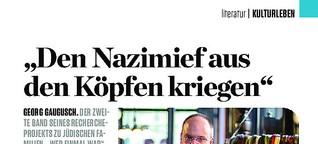 """""""Den Nazimief aus den Köpfen kriegen"""""""