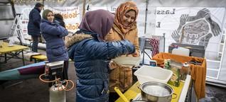 Containerdorf für Geflüchtete: Lagerkoller im Niemandsland