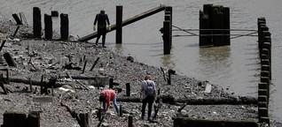 Mudlarking - Schätze aus der Themse