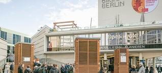 """""""City Trees"""" sollen Berliner Luft sauberer machen"""