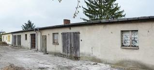 Eine ehemalige Zwangsarbeiterbaracke wird zum schicken Eigenheim