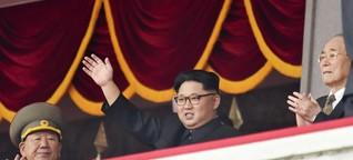 Neonazis und Friedensaktivisten, die Nordkorea lieben