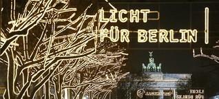 Bleibt es Weihnachten Unter den Linden dunkel?