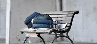 Ohne Obdach, ohne Halt