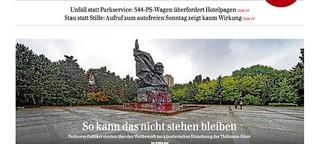 Ernst-Thälmann-Denkmal in Berlin-Prenzlauer Berg: Umstrittenes DDR-Büste spaltet die Pankower Politik