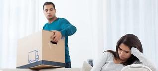 Dein Sofa, mein Bett: Wohnungsauflösung nach Trennung