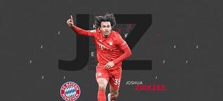 Joshua Zirkzee startet beim FC Bayern München durch