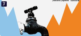 F.A.Z.-Serie Schneller Schlau: Wird im Sommer das Wasser knapp?