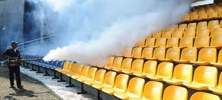 Umweltschutz im Fußball: Wenn die Stadien versinken