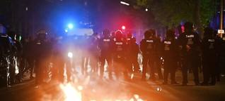 "Mindestens 93 Polizisten bei ""Revolutionärer 1. Mai-Demonstration"" verletzt"