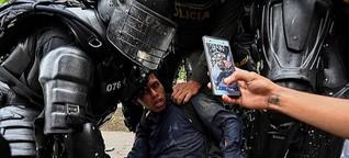 Kolumbien - Wut schwappt durch die Straßen