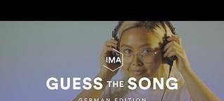 Guess The Song: German Edition | Erkennst du diesen Song?