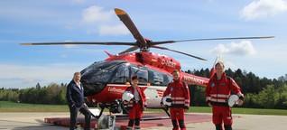Rettungs-Heli H145 mit Weltneuheit in Villingen-Schwenningen