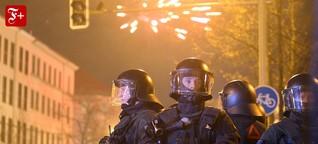 """Angriff auf Polizisten: """"Gewalt braucht keinen Anlass"""""""