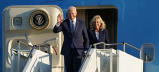 Joe Biden - ein zu Hause angeschlagener US-Präsident auf Europa-Tour