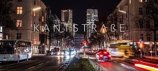 Kantstraße in Bewegung