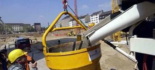 Sandmangel treibt Baukosten in NRW in die Höhe