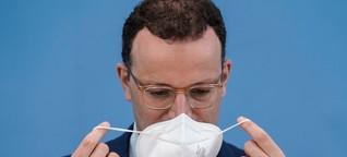 Schwere Vorwürfe: Waren Spahn-Masken mitverantwortlich für den Corona-Ausbruch in einer Pflegeeinrichtung?