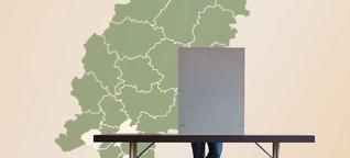 Kommunalwahl in Hessen: Die größten Hochburgen, die krachendsten Niederlagen