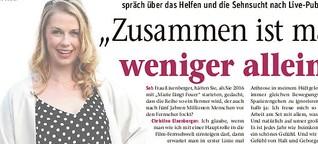 """In """"Marie fängt Feuer"""" hilft Christine Eixenberger, wo sie kann"""