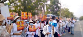 Nuns on the front line fight to save Myanmar's democracy - UCA News