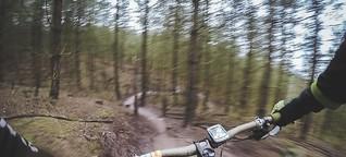 Westpol: Waldschäden durch Mountainbikes