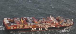 Containerschifffahrt - Größenwahn mit Folgen