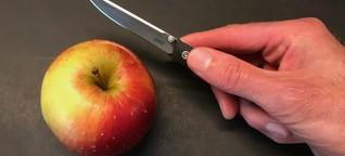 Taschenmesser im Test: Echt scharf