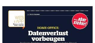 Datenverlust im Home -Office vorbeugen
