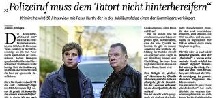 "Der ""Polizeiruf"" muss dem Tatort nicht hinterhereifern, sagt Peter Kurth"