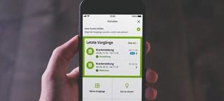 "Digital Health: Bei der Barmer gibt es ""digitales Krankengeld"""