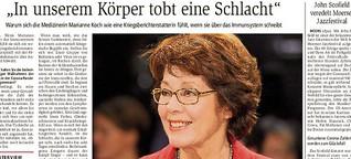 Marianne Koch und ihr Bestseller über die menschliche Immunabwehr