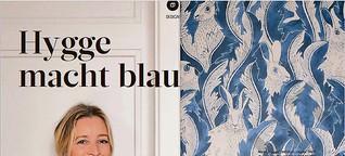 Textildesign: Hygge macht blau