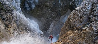 Canyoning – Sportliche Action mit Waschgang