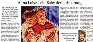 Christian Sengewald und das Luisenburg-Baby von Eli Wasserscheid
