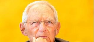 Parteispenden: Schäuble will weniger Transparenz - NGOs protestieren