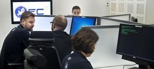 Straftaten im Internet - Wie Behörden Cyber-Kriminelle jagen