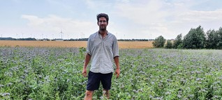 Erst zu trocken, dann zu nass: Was hilft auf Brandenburgs Feldern gegen extreme Dürre und Starkregen?