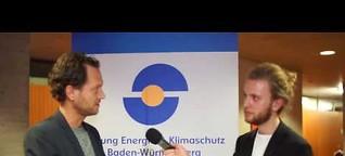 Energiereporter Tobias Mayr im Interview mit Fairphone CEO Bas van Abel