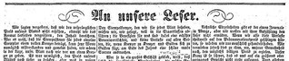 """""""An unsere Leser"""": Die Interaktion zwischen Zeitung und Leserschaft und das journalistische Selbstverständnis"""