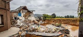 Flutkatastrophe in Erftstadt: Wie es in der schwer getroffenen Stadt aussieht