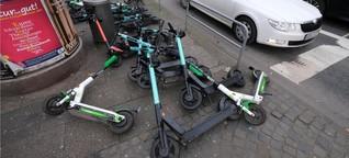 E-Scooter und Carsharing: Liebe Verleiher, wärt ihr so nett?