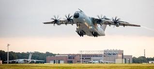 Bundeswehrmaschine zu Evakuierung nach Kabul gestartet