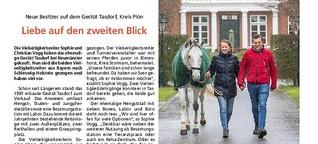 Gestüt Tasdorf: Liebe auf den zweiten Blick