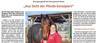"""""""Aus Sicht der Pferde konzipiert"""""""