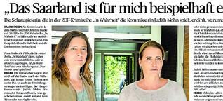 """""""In Wahrheit""""-Drehs haben Christina Hecke zum Saarland-Fan gemacht"""