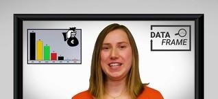 """Datenkolumne """"Dataframe"""" zu Parteispenden: Woher das Geld für den Wahlkampf kommt"""